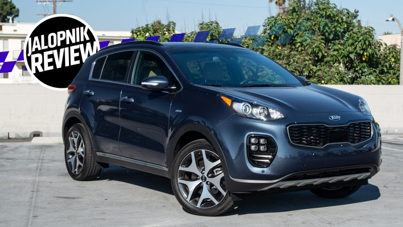The 2018 Kia Sportage Sx Is A Great Daily Driver But Gas Mileage