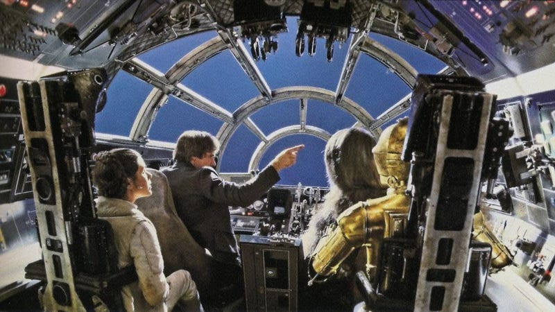 Lots of Switches Were Flipped in the Millennium Falcon Across the Star Wars Films