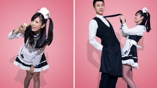 Illustration for article titled Chinese Airline Dressing Up Flight Attendants as...Maids and Butlers