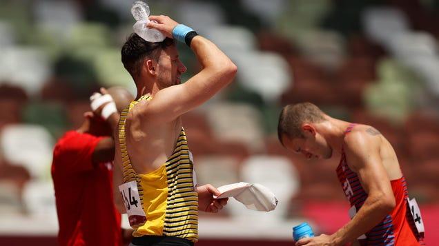 Photos: Athletes Break Down Under Extreme Heat at the Olympics
