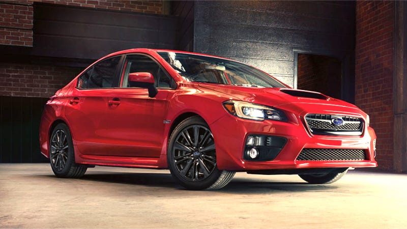 Illustration for article titled 2015 Subaru WRX: This Is More Of It