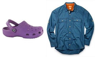 Illustration for article titled Crocs Creates New Sweat-Absorbing Material for Shirts, Calls it Croslite rt