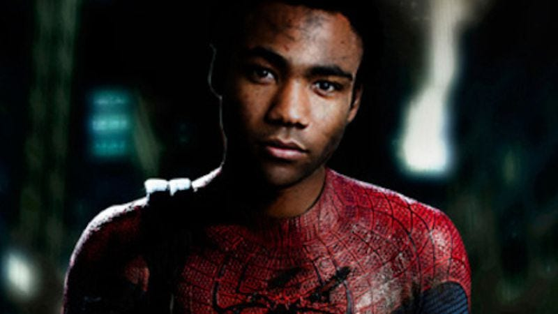 Illustration for article titled Donald Glover gets another shot to play Spider-Man, sort of