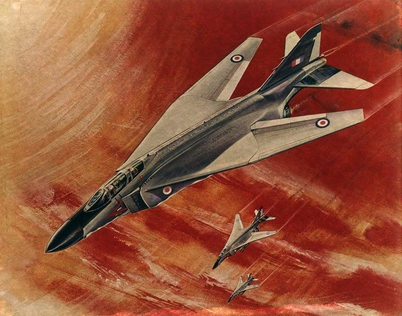 Illustration for article titled The F-4 Phantom's Manufacturer Wanted To Give It Swing-Wings