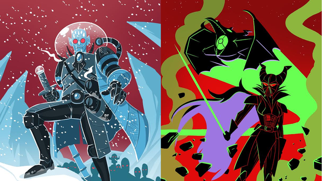 These Villainous Character Art Mashups Will Bring Terror to Every Fictional Universe
