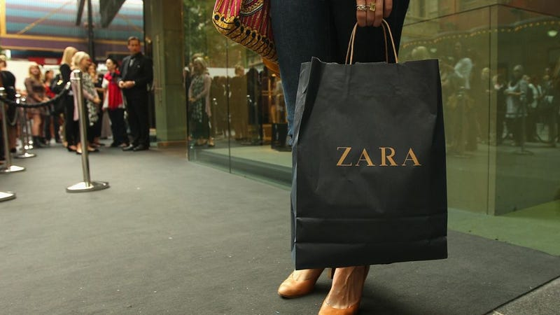 """Illustration for article titled Zara Says It Really Had No Idea Its Clothes Were Being Manufactured In """"Slave-Like Conditions"""""""