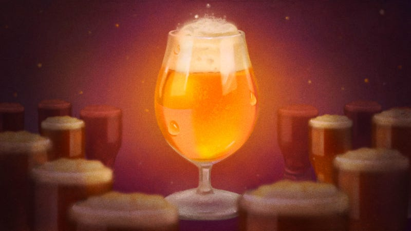 Illustration for article titled Brut IPAs are the bone-dry, champagne-like beer hopheads can't get enough of
