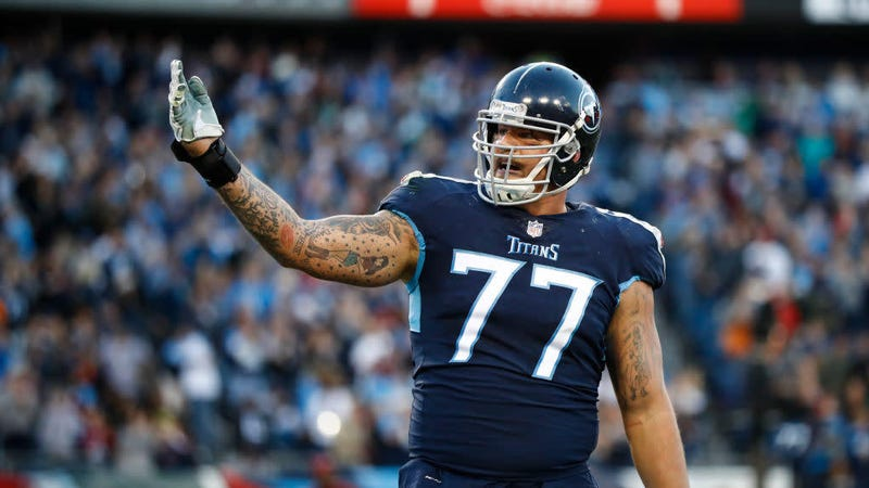 Illustration for article titled Taylor Lewan Issues Weird, Tearful Apology After Testing Positive For PEDs