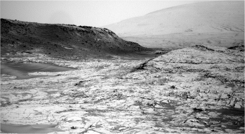 Illustration for article titled La sonda Maven envía su primera foto de Marte conectándose a Curiosity