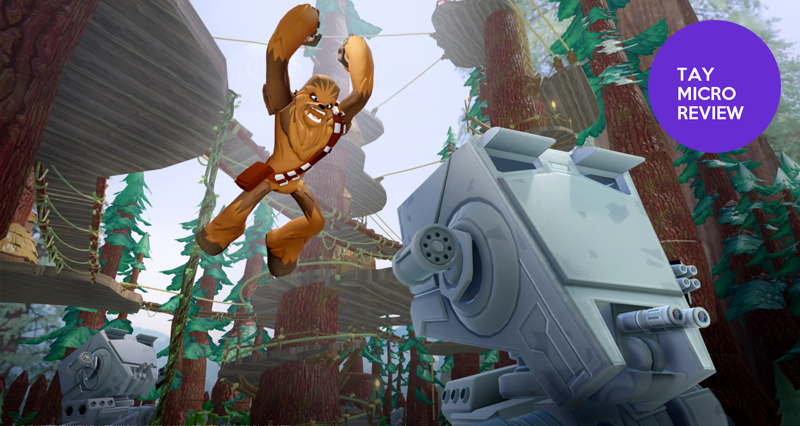 Illustration for article titled Disney Infinity: Rise Against the Empire: The TAY Micro Review