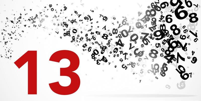 Las curiosidades y coincidencias detrás de un simple número: el 13