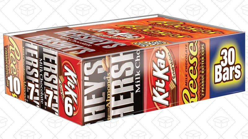 30-Count Hershey's Variety Box | $14 | Amazon | After 10% off coupon