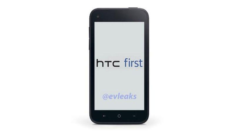 Illustration for article titled Filtran posible imagen del nuevo Facebook Phone