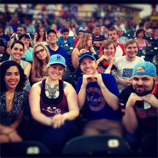 """Illustration for article titled Instagram Photos From The Brooklyn Cyclones' """"Williamsburg Night"""""""