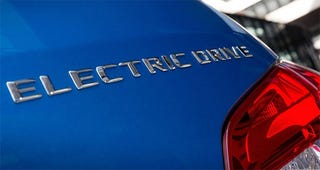 Illustration for article titled Mercedes has a B-Class Electric Drive