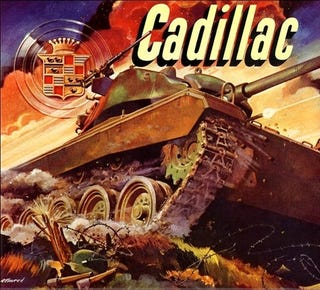 Illustration for article titled The Cadillac Tank Wishes You A Happy New Year
