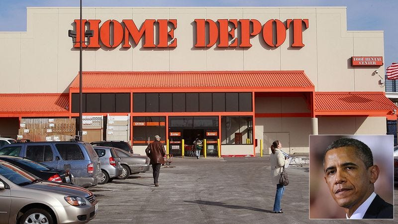 Illustration for article titled Abuse Of Power: President Obama Could Probably Steal From Home Depot And Not Get In Trouble