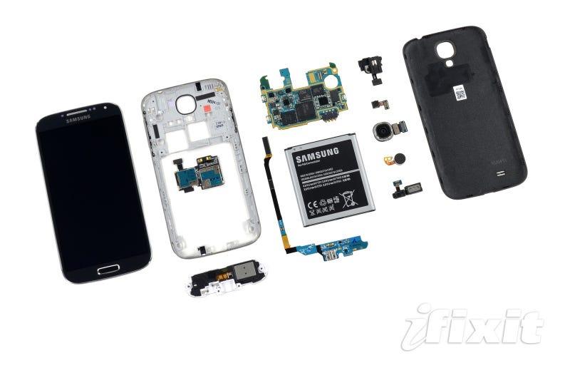 Illustration for article titled El Samsung Galaxy S4 por dentro