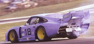 Illustration for article titled Thar She Blows! Twin-Turbo Moby Dick Porsche 935