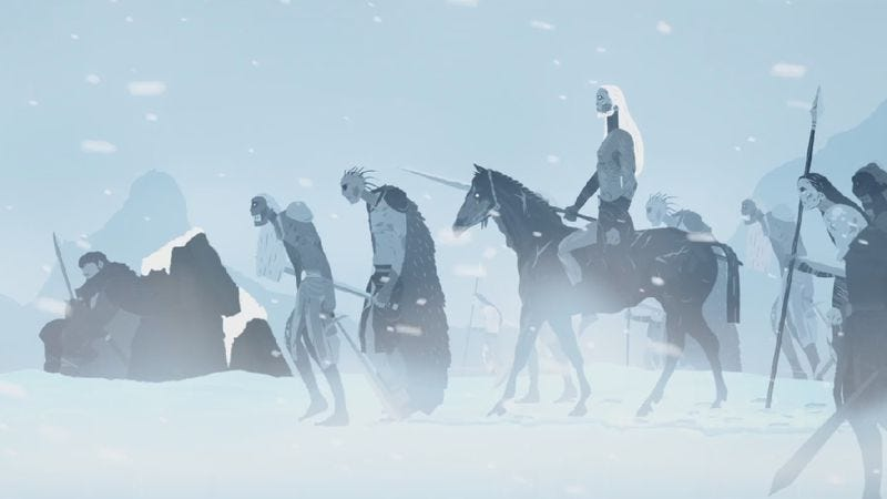 Illustration for article titled Take an animated journey through the world of Game Of Thrones