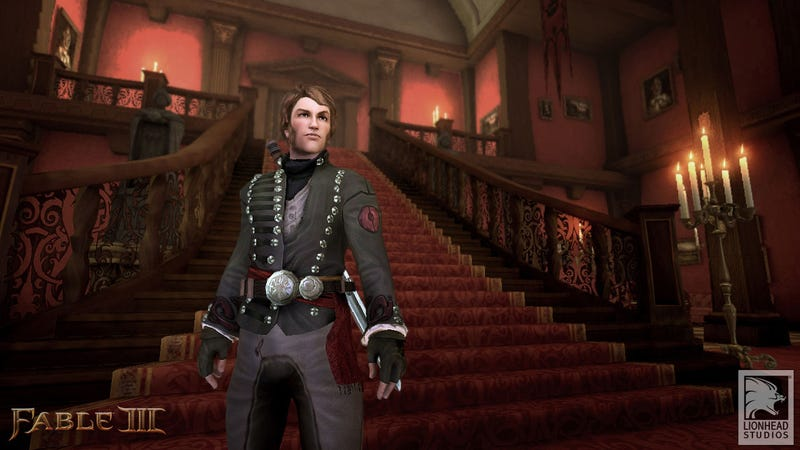 Illustration for article titled New Fable III Screen Adds A Touch Of Dapper