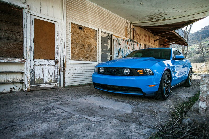 Illustration for article titled For $32,000, This 2010 Mustang GT Has Jalopnik Written All Over It