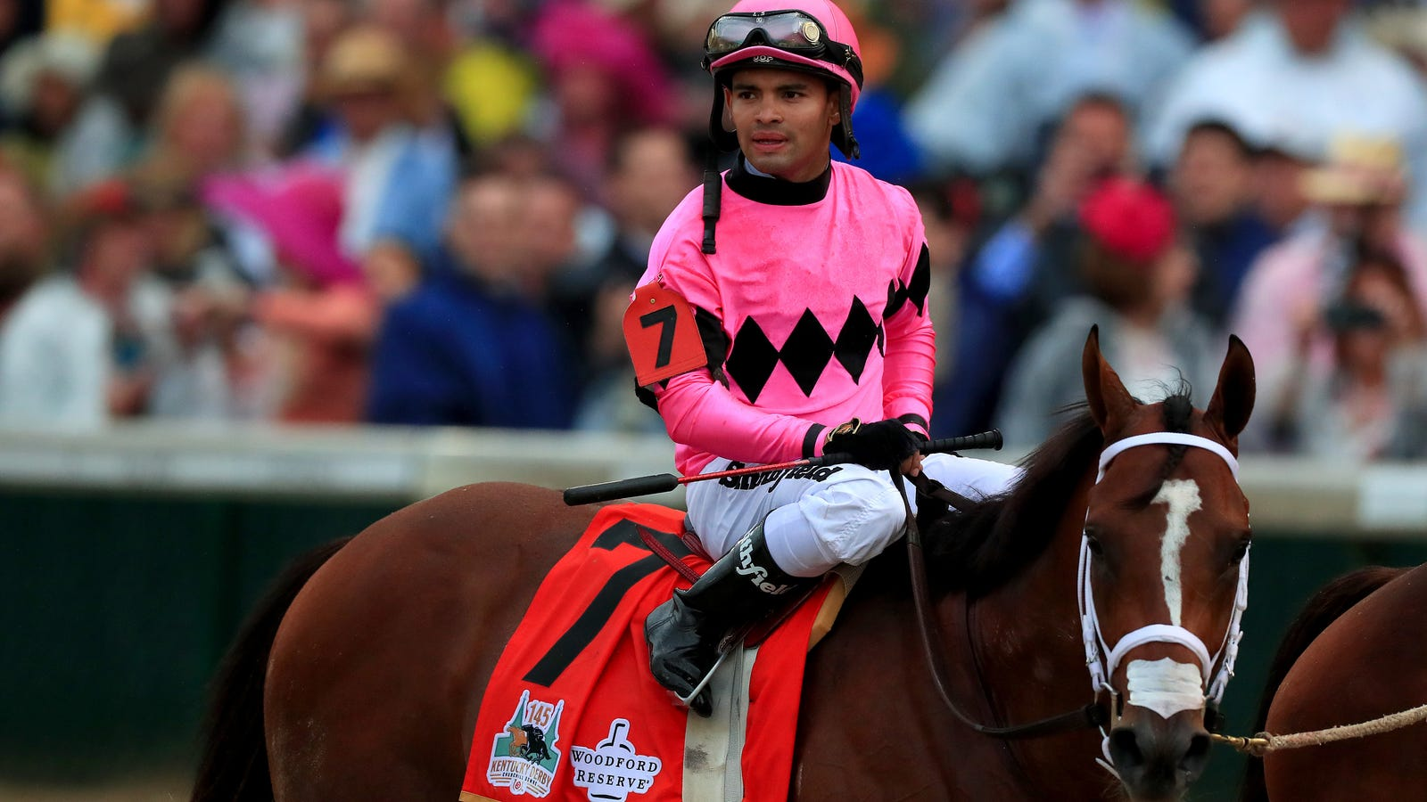 Disqualified Kentucky Derby Jockey Hit With Suspension For