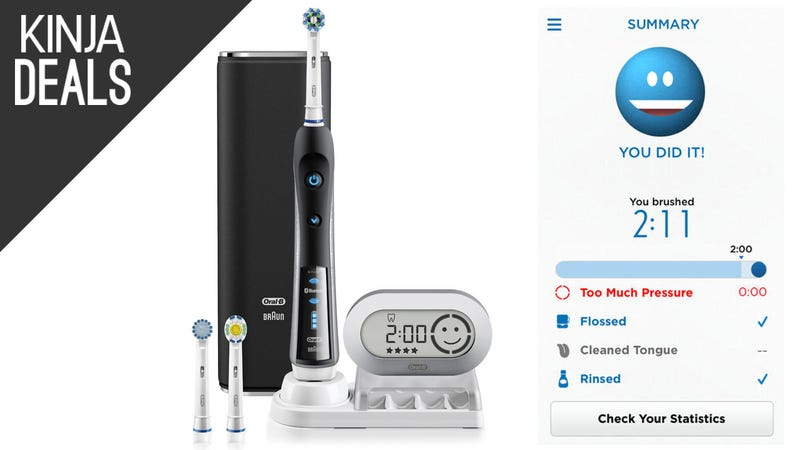 Illustration for article titled Quantify Your Oral Care With This Smartphone-Connected Toothbrush