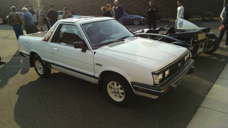 Illustration for article titled Might You Do $10,000 For This Crazy Clean 1985 Subaru Brat GL?