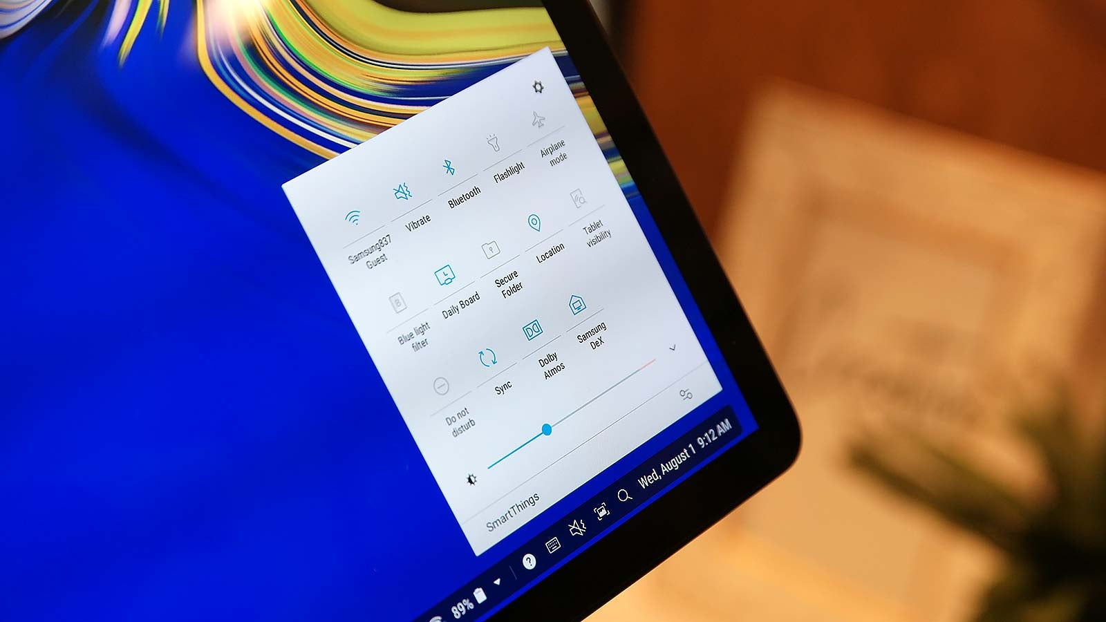 Samsung Galaxy Tab S4 Hands-on: Dex Amps Up the Productivity