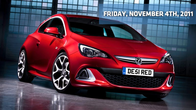 Illustration for article titled Opel Astra OPC, Vauxhall Astra VXR, and GM's CEO is living in an electric dream