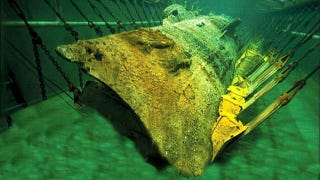 Illustration for article titled A Year-Long Bath Will Reveal the Secrets of This Confederate Sub