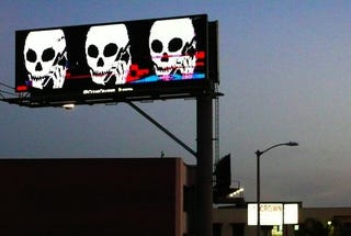 Illustration for article titled Digital Billboards Hacked in Southern California
