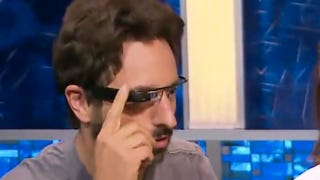 Illustration for article titled Sergey Brin Finally Lets Someone Else Wear Google Glass