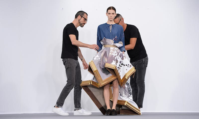 Illustration for article titled You Won't Wear These Viktor & Rolf Looks, But Go Ahead & Frame Them