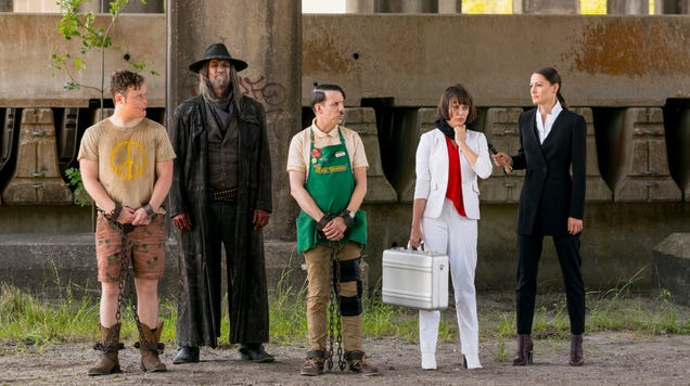 Load up the hell bus, Hitler, because AMC just renewed Preacher for another season