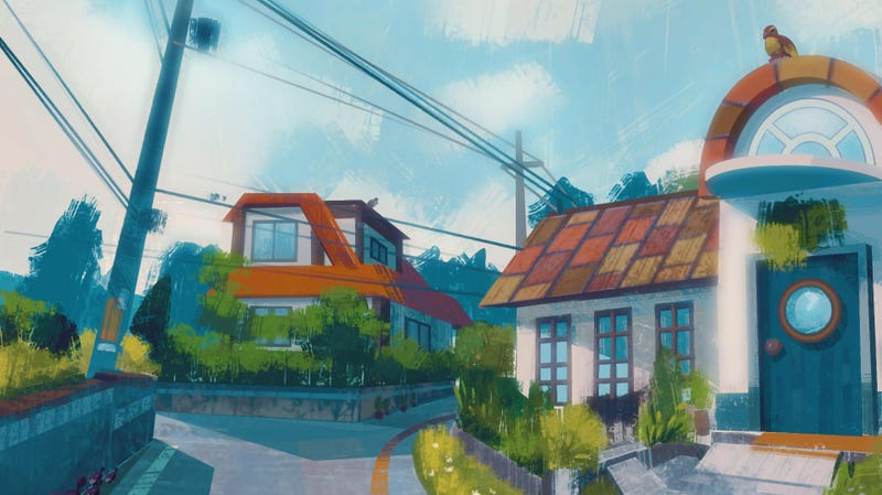 Illustration for article titled Beautiful Paintings Of Pokemon's Kanto Region