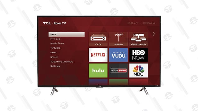 Upgrade Your Bedroom TV for Just $170, Today Only