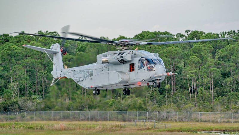 Illustration for article titled After A Year Of Delays, Sikorsky's CH-53K King Stallion Flies For The First Time