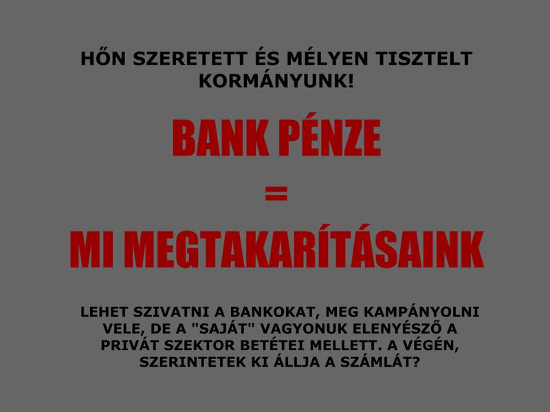 Illustration for article titled Bank pénze