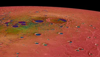 Illustration for article titled MESSENGER's Latest Shots Of Mercury Are Some Of The Best We've Seen
