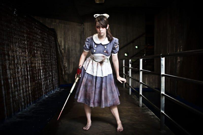 Illustration for article titled BioShock's Little Sister, In the Flesh