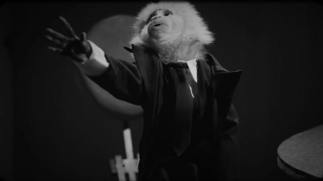 Jack Cruz, the monkey from David Lynch's new short film, just released a record