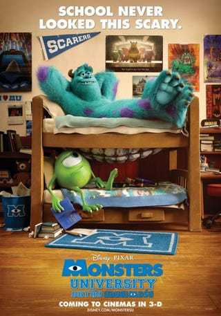 Illustration for article titled Monster University Posters