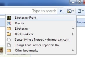 Add a Bookmark Button to Google Chrome's Toolbar