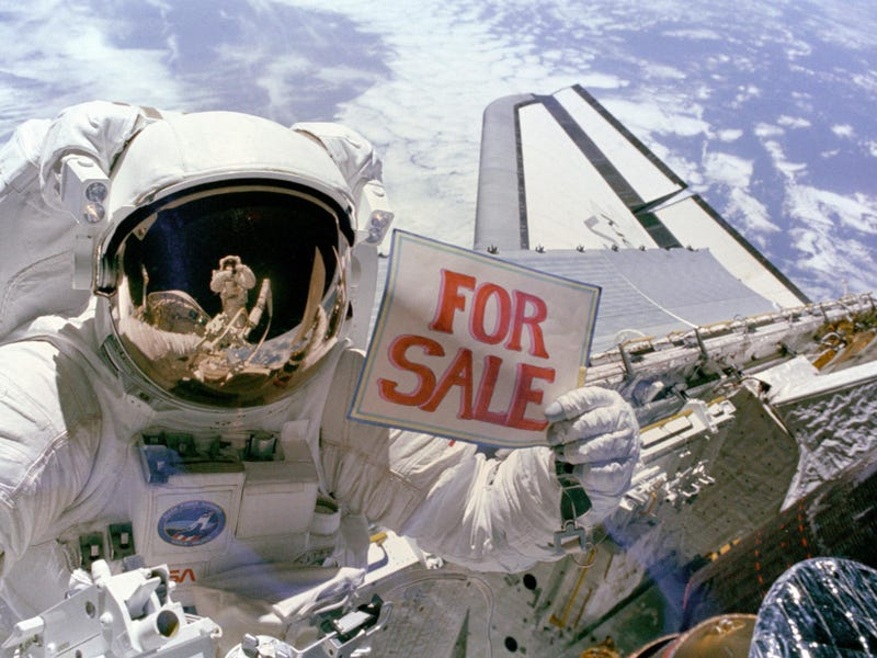 Illustration for article titled For Sale: Two Satellites, Lightly Used