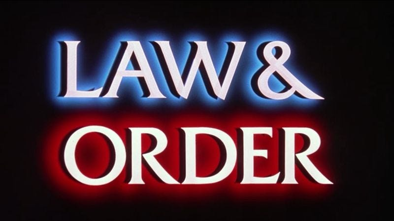 Illustration for article titled Law & Order's Dick Wolf is making a reality show about law and order