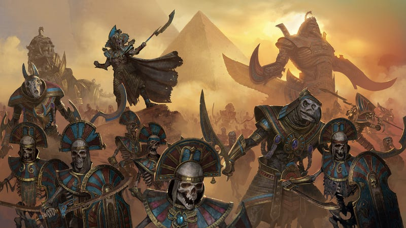 Illustration for article titled Egyptian Zombies Are Coming To Total War: Warhammer II