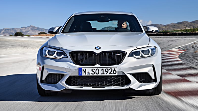 The 2019 Bmw M2 Competition Gets 405 Hp And A Bigger Face
