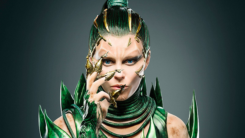 Illustration for article titled Here Is Your First Horrifying Look at Elizabeth Banks as Power Rangers' Rita Repulsa
